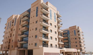 B+G+6F Residential Building at Mirdif