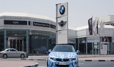 BMW Showroom, Dubai