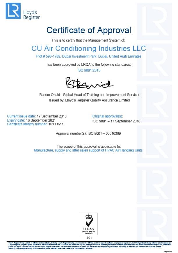 Corporate Certification